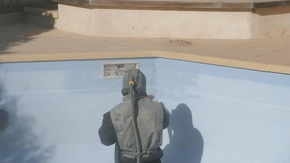 Osmose sur piscine polyester et r novation gelcoat sur st - Piscine st giniez marseille ...
