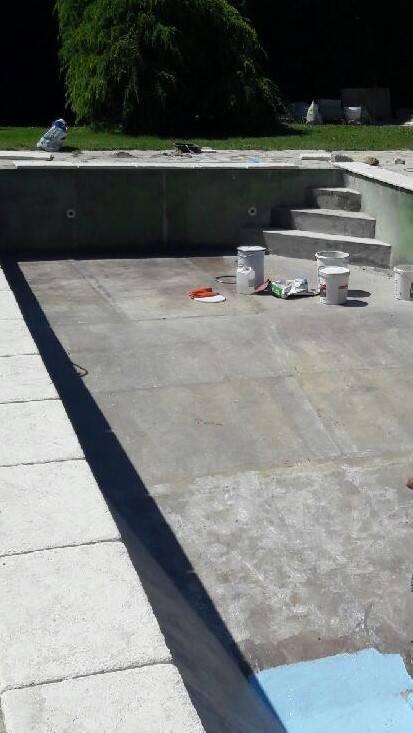 Cr ation d 39 escaliers dans une piscine gemenos for Piscine de gemenos