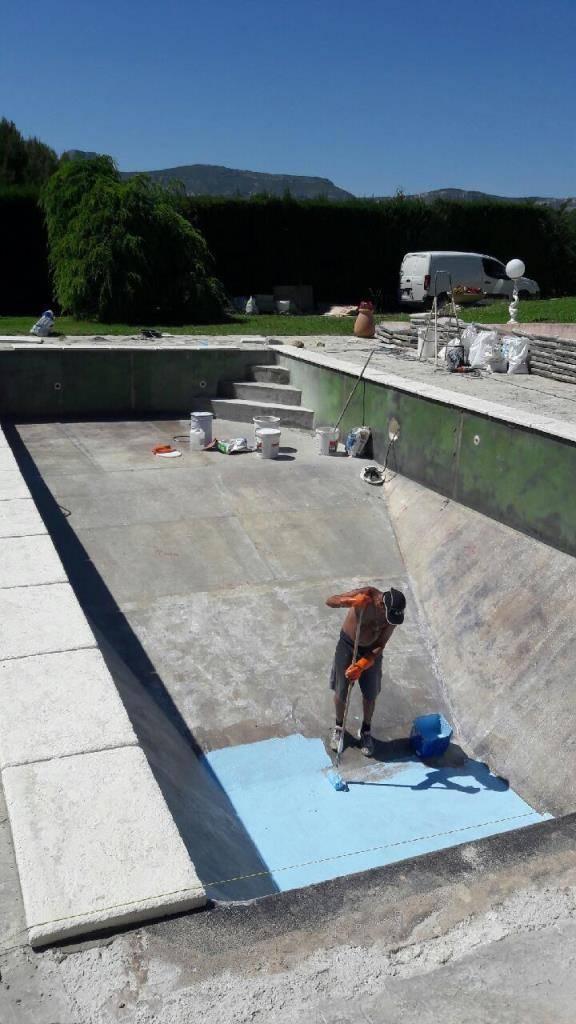 Fuites piscines panneaux aciers liner gemenos for Piscine gemenos